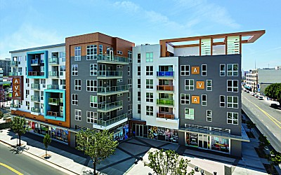 Six-Story Mixed-Use Apartment Buildings Earn LEED® Gold