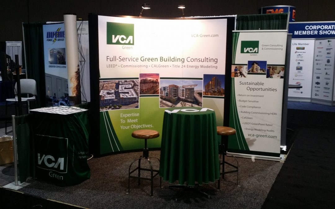 VCA Green Exhibits at West Coast EMC