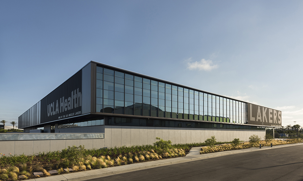 Lakers Training Facility Achieves LEED Platinum