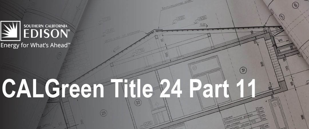 Free CALGreen Title 24 Part 11 Course