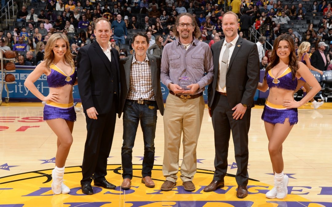 Los Angeles Lakers Recognize Sustainability: Environmental Nature Center