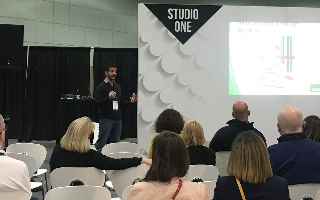 VCA Green Spoke at 2018 DWELL on Design