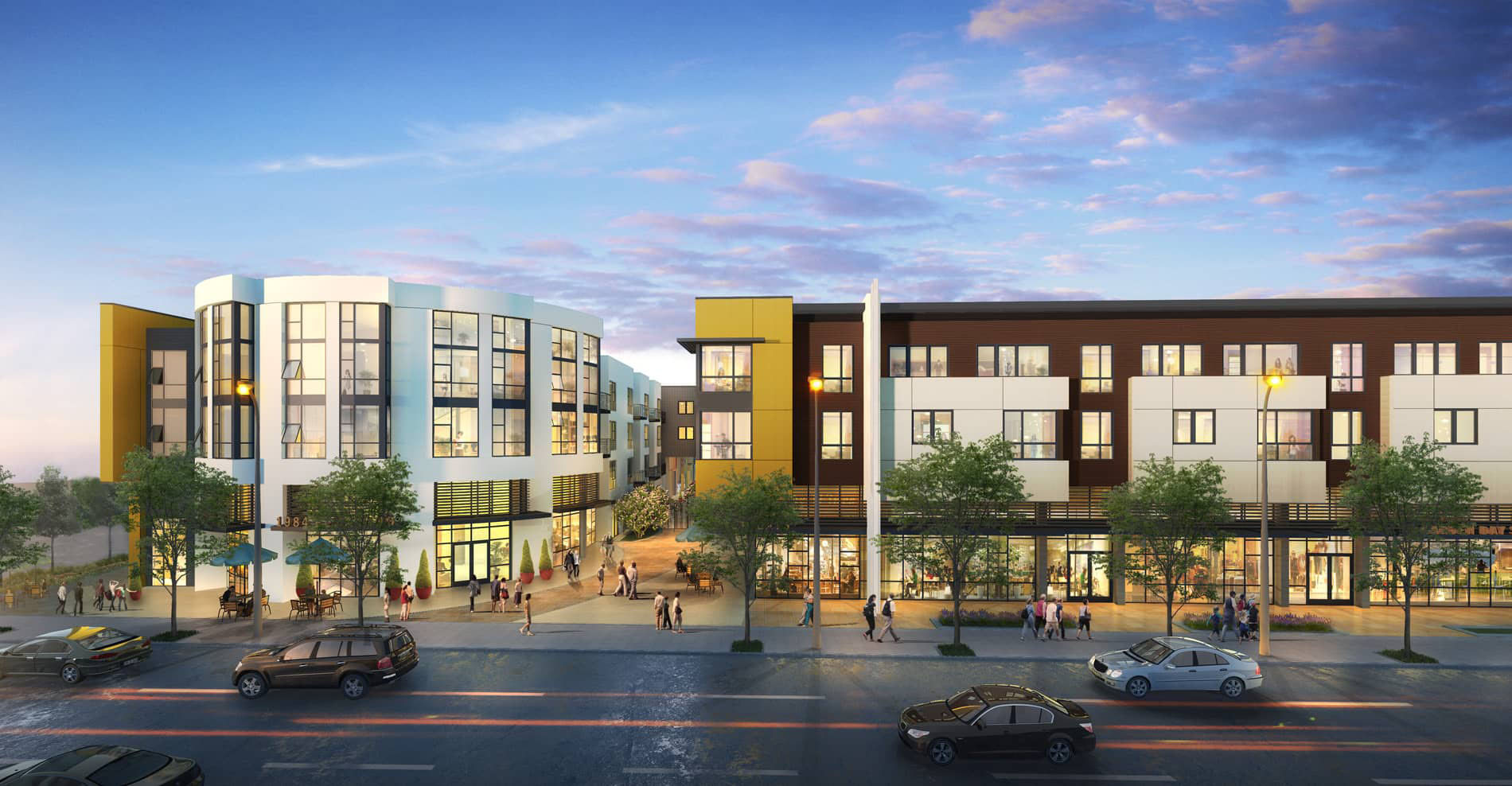Vca Green Case Study Leed Silver For Mixed Use Apartment