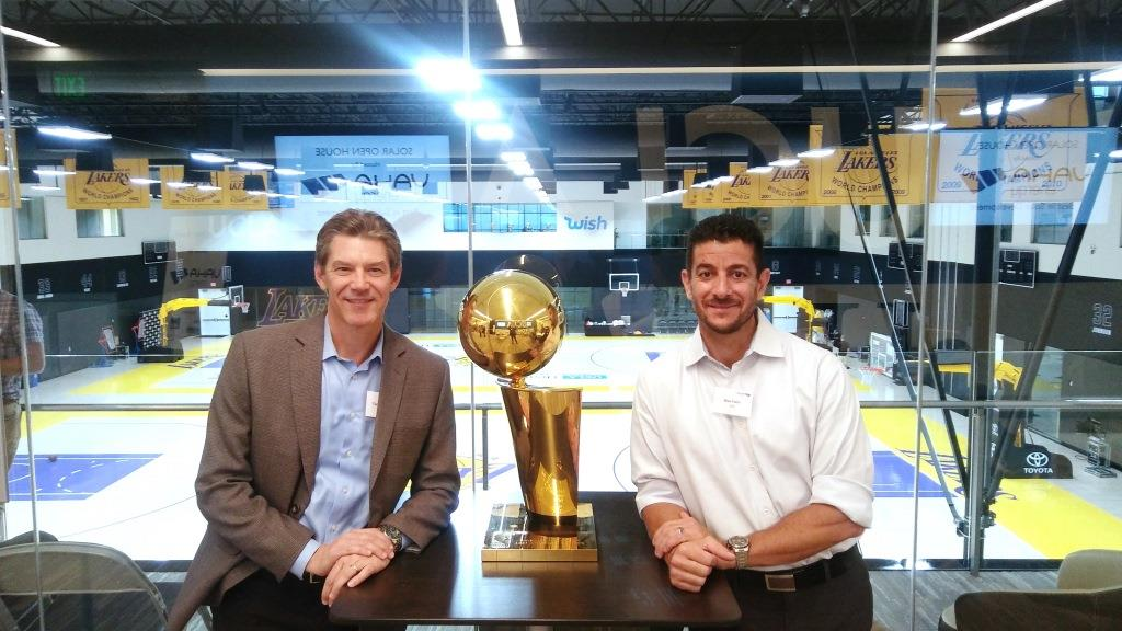 Los Angeles Lakers Solar Open House