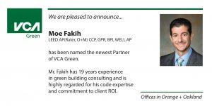 Moe Fakih named Principal of VCA Green