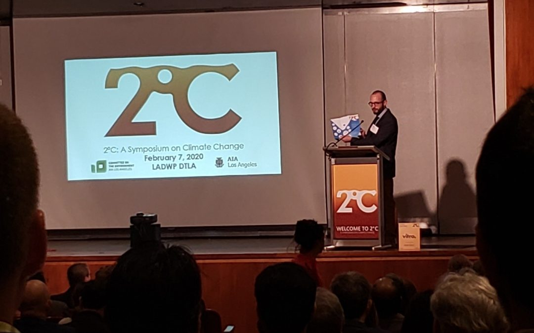 VCA Green Attends 2°C Symposium on Climate Change